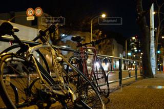 2台のロードバイクの写真・画像素材[750325]