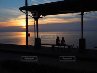 下灘駅の写真・画像素材[958010]