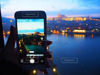 プラハ城の夕暮れの写真・画像素材[2659270]