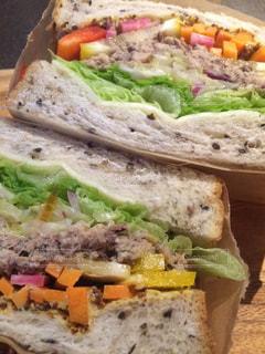 サンドイッチのアップ - No.885913