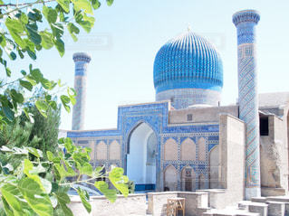 ウズベキスタン、サマルカンドのグーリ・アミール廟の写真・画像素材[749408]