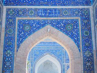 ウズベキスタン、サマルカンドのグーリ・アミール廟の写真・画像素材[749412]