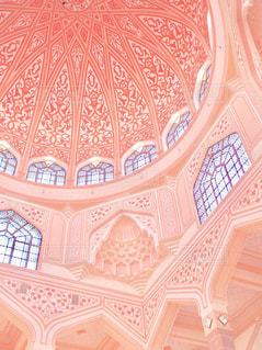 マレーシアのピンクモスクの写真・画像素材[750865]