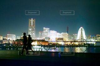 横浜の夜景の写真・画像素材[1449065]