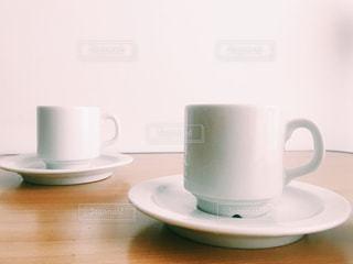 ブラックコーヒー淹れたて自宅の写真・画像素材[641602]