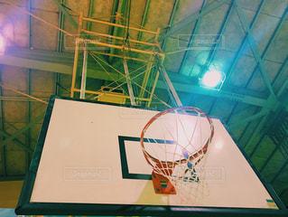 バスケボールのリングの写真・画像素材[651592]