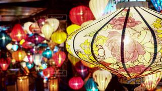 ベトナムのホイアンのランタン祭りの写真・画像素材[942863]