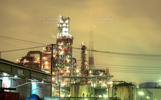 夜の街の景色の写真・画像素材[943331]