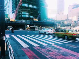 渋谷のスクランブル交差点の写真・画像素材[946993]
