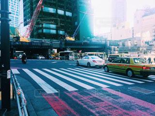 渋谷のスクランブル交差点の写真・画像素材[946995]