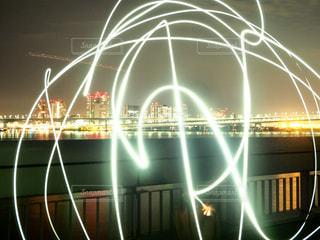 ライトで文字の写真・画像素材[953547]