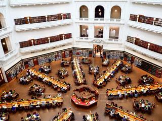 ビクトリア州立図書館の写真・画像素材[953553]