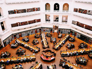 ビクトリア州立図書館の写真・画像素材[953666]