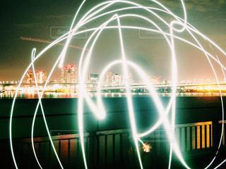 ライトで文字の写真・画像素材[954211]