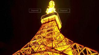 東京タワーは夜ライトアップの写真・画像素材[969398]