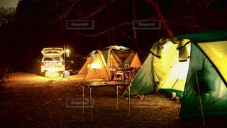 キャンプ テントの写真・画像素材[969402]
