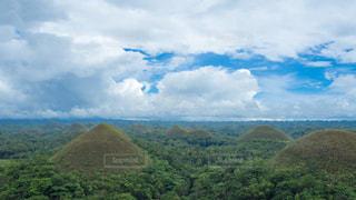 チョコレートヒルズ フィリピンの写真・画像素材[969447]