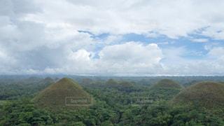 チョコレートヒルズ フィリピンの写真・画像素材[969448]