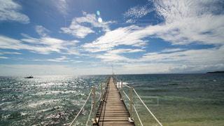 フィリピンビーチ 青空の写真・画像素材[969451]