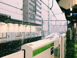 駅 雪の写真・画像素材[977063]