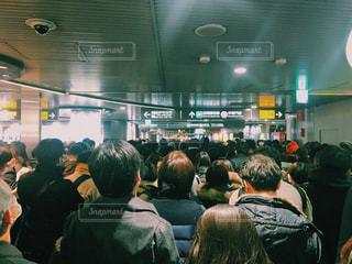 渋谷駅 混雑の写真・画像素材[977069]