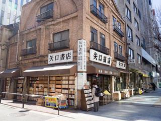 神保町の古書店の写真・画像素材[1011603]
