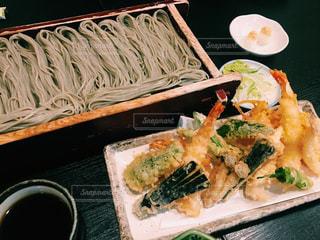 天ぷら蕎麦の写真・画像素材[1030039]