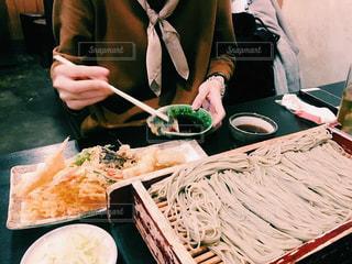 天ぷら蕎麦の写真・画像素材[1030041]