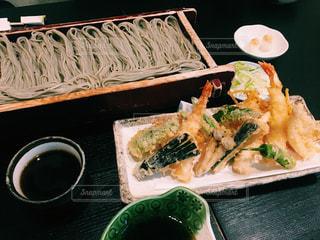 天ぷら蕎麦の写真・画像素材[1030042]