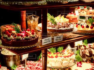 ケーキが並ぶの写真・画像素材[1047592]