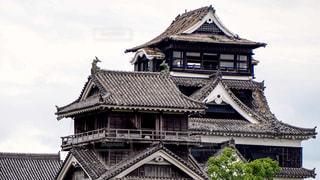 熊本城 熊本地震の写真・画像素材[1052276]