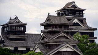 熊本城 熊本地震の写真・画像素材[1052277]