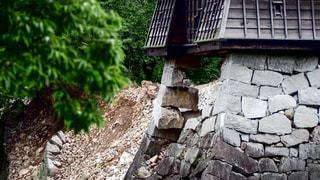 熊本城 熊本地震の写真・画像素材[1052279]