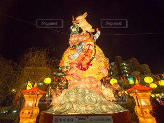 長崎ランタンフェスティバルの写真・画像素材[1053134]