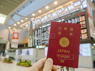 パスポート 空港の写真・画像素材[1068876]