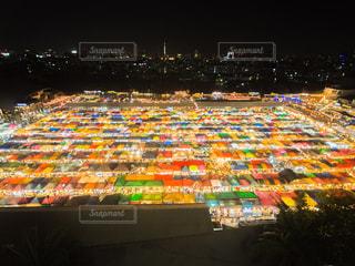 タイ ナイトマーケットの写真・画像素材[1068889]