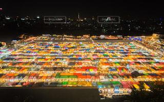 ナイトマーケット タイの写真・画像素材[1068890]
