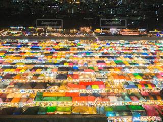 タイ ナイトマーケットの写真・画像素材[1068891]