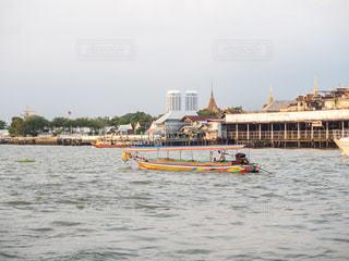 チャオプラヤー川 タイの写真・画像素材[1069105]