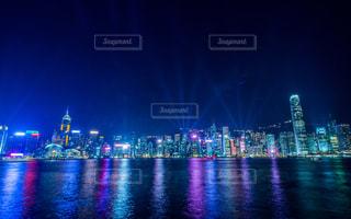 香港夜景の写真・画像素材[1069117]