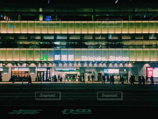 新宿駅 バスタの写真・画像素材[1098643]