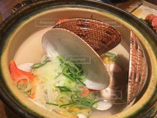貝の酒蒸しの写真・画像素材[1137155]