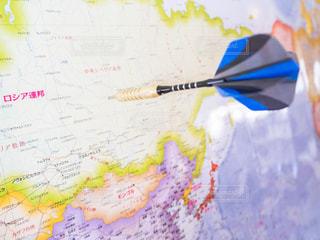 ロシア 世界地図の写真・画像素材[1172410]