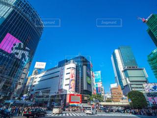渋谷駅 スクランブル交差点の写真・画像素材[1172414]
