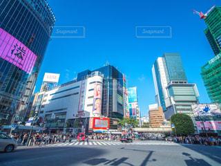 渋谷駅 スクランブル交差点の写真・画像素材[1172415]