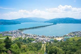 日本三景の一つ天橋立の写真・画像素材[1384886]