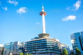 都市の高層ビル 京都タワーの写真・画像素材[1410715]