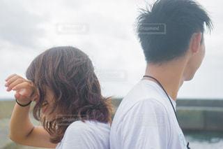 男と女のデート失恋の写真・画像素材[1457181]