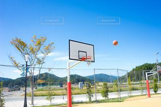 ストリートバスケットボールの写真・画像素材[1498705]