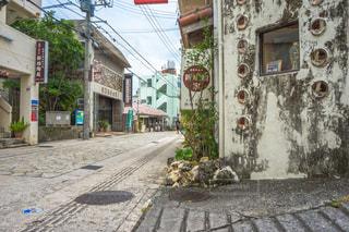 沖縄のやちむん通りの写真・画像素材[1565101]